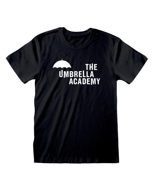 OFFICIAL THE UMBRELLA ACADEMY LOGO BLACK T-SHIRT