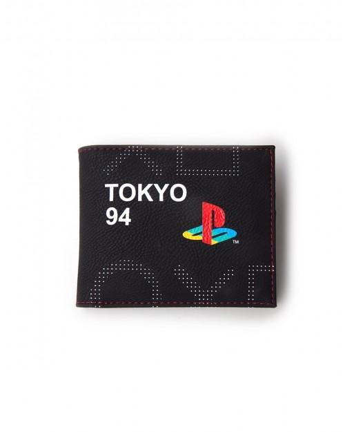 OFFICIAL SONY PLAYSTATION SYMBOL TOKYO 1994 BLACK WALLET