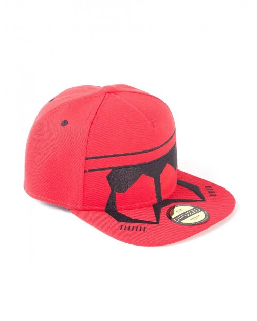 OFFICIAL STAR WARS RISE OF SKYWALKER - THE RED GUARD STORMTROOPER SNAPBACK CAP
