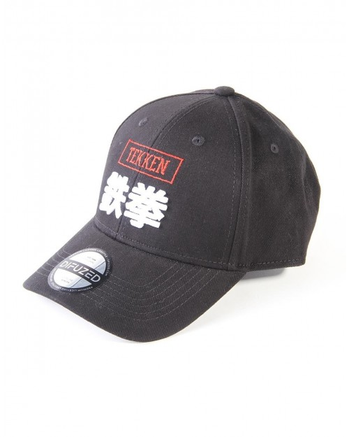 OFFICIAL TEKKEN JAPANESE IRON FIST BLACK STRAPBACK BASEBALL CAP