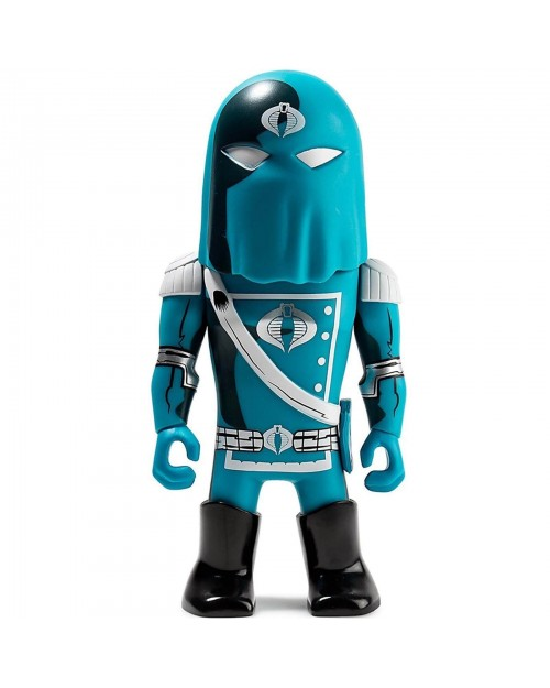 KIDROBOT x TRANSFORMERS VS G.I. JOE COBRA COMMANDER VINYL ART FIGURE