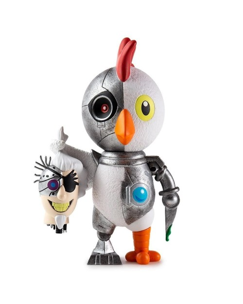 KIDROBOT x ADULT SWIM ROBOT CHICKEN VINYL ART FIGURE