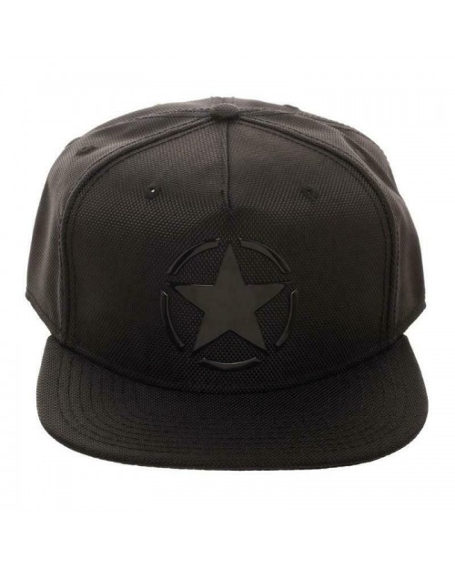OFFICIAL CALL OF DUTY: WWII (2) FREEDOM STAR BLACK SNAPBACK CAP
