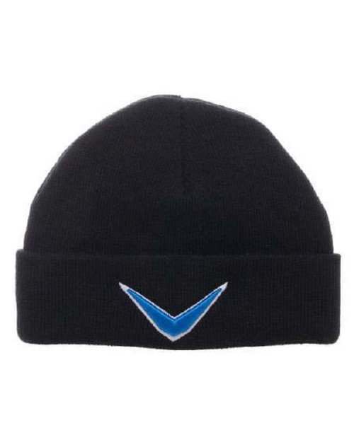 OFFICIAL SUICIDE SQUAD BOOMERANG SYMBOL BLACK BEANIE