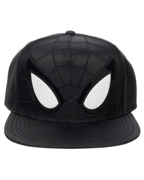 OFFICIAL MARVEL COMICS SPIDER-MAN SYMBIOTE COSTUME BLACK SNAPBACK CAP