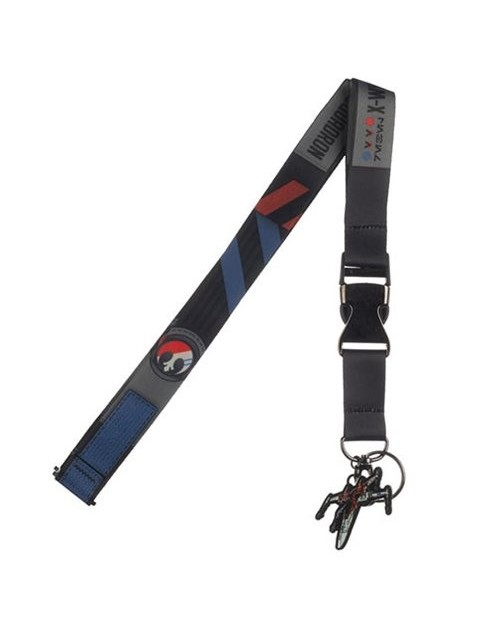 STAR WARS EP IX: RISE OF SKYWALKER X-WING REBEL PRINT PRINTED LANYARD