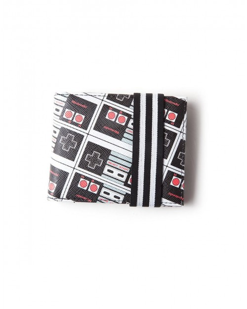 OFFICIAL NES NINTENDO ENTERTAINMENT SYSTEM CONTROLLER PRINT WALLET