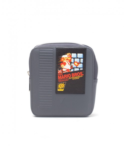 NINTENDO SUPER MARIO BROS NES CATRIDGE COIN SHAPED COIN PURSE