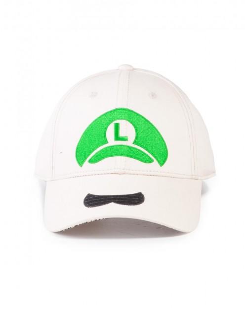 NINTENDO SUPER MARIO BROS MARIO HAT BEIGE SNAPBACK BASEBALL CAP