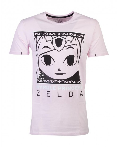 THE LEGEND OF ZELDA HYRULE PRINCESS PINK UNISEX T-SHIRT