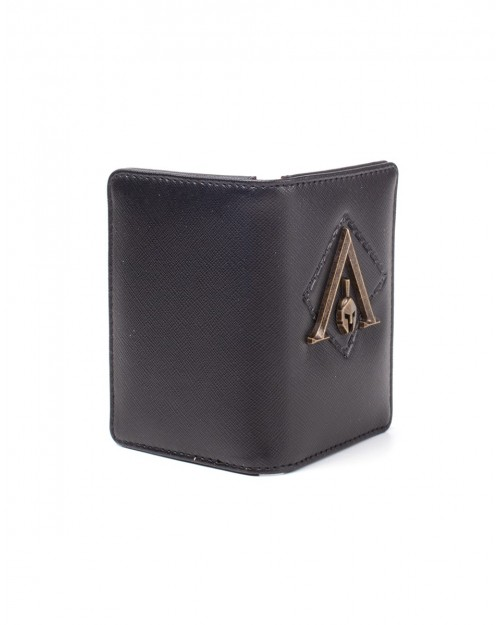 OFFICIAL ASSASSIN'S CREED ODYSSEY SYMBOL BLACK BI-FOLD WALLET/ CARD HOLDER