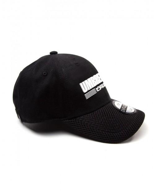 RESIDENT EVIL - UMBRELLA CORP JAPANESE BLACK STRAPBACK BASEBALL CAP