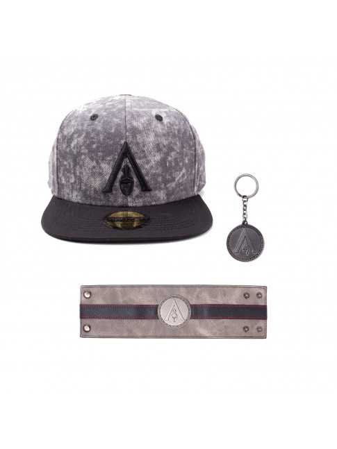 ASSASSIN'S CREED ODYSSEY BUNDLE - HAT, BRACELET AND KEYRING