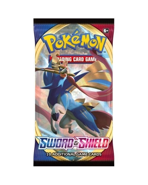 POKEMON SWORD AND SHIELD BOOSTER PACK TRADING CARD GAME