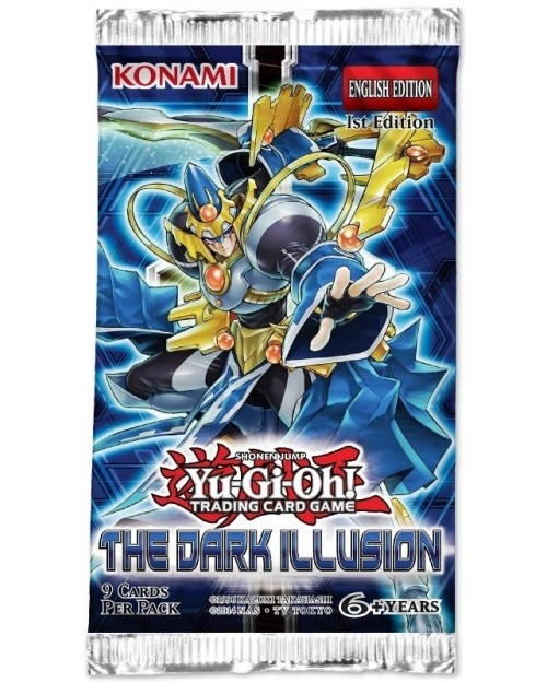 YU-GI-OH THE DARK ILLUSION BOOSTER PACK TRADING CARD GAME