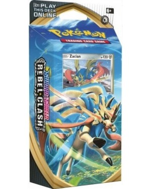 POKEMON SWORD AND SHIELD REBEL CLASH BOOSTER PACK TRADING CARD GAME