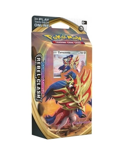 POKEMON SWORD AND SHIELD REBEL CLASH ZACIAN THEMED DECK TRADING CARD GAME