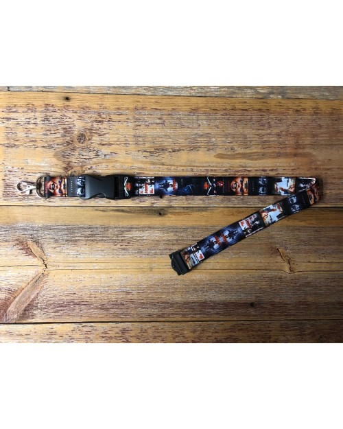 CHILD'S PLAY CHUCKY MOVIE POSTERS ALL OVER PRINT LANYARD BY TOTALLY TUBULAR