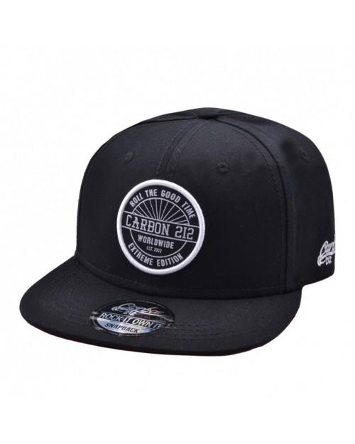 CARBON 212 - BEAR AUTHENTIC BLACK SNAPBACK CAP