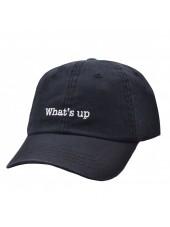 CARBON 212 - BOWIE INSPIRED BOLT BLACK BASEBALL CAP