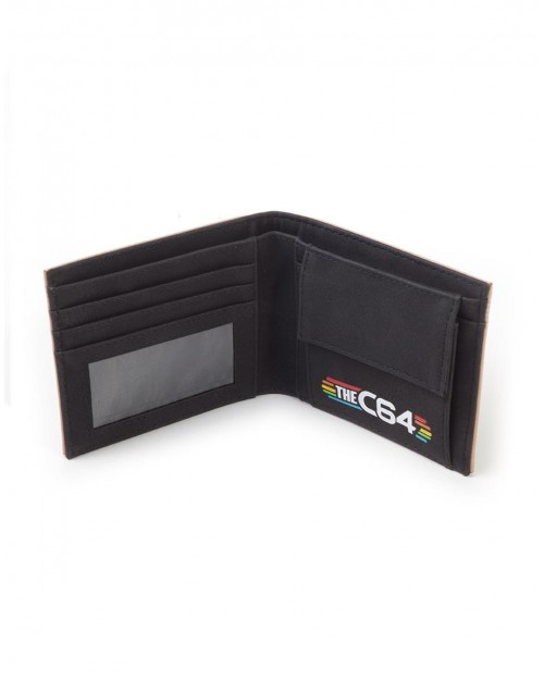 OFFICIAL THE C64 KEYBOARD PRINT BI-FOLD WALLET