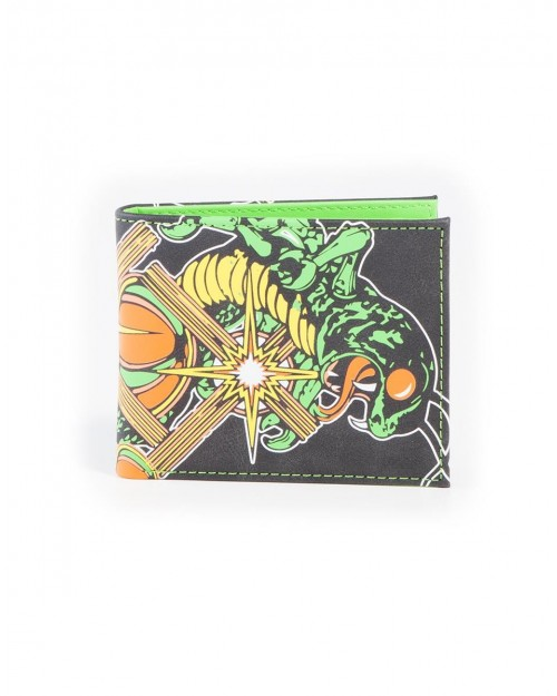 ATARI CENTIPEDE VIDEO ARCADE RETRO BLACK BI-FOLD WALLET