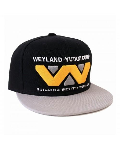 OFFICIAL ALIEN - WEYLAND-YUTANI CORP LOGO BLACK SNAPBACK CAP