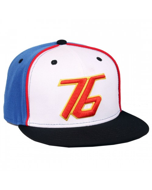 OFFICIAL OVERWATCH - SOLDIER: 76 CHARACTER STYLED BLUE SNAPBACK CAP