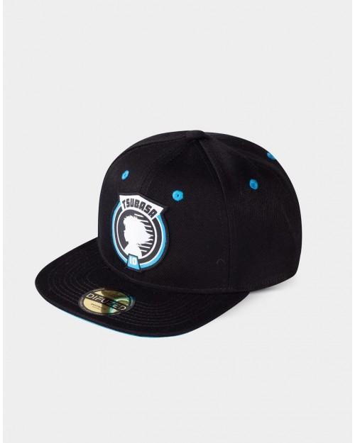 CAPTAIN TSUBASA - TSUBASA 10 PRINTED BLACK SNAPBACK CAP