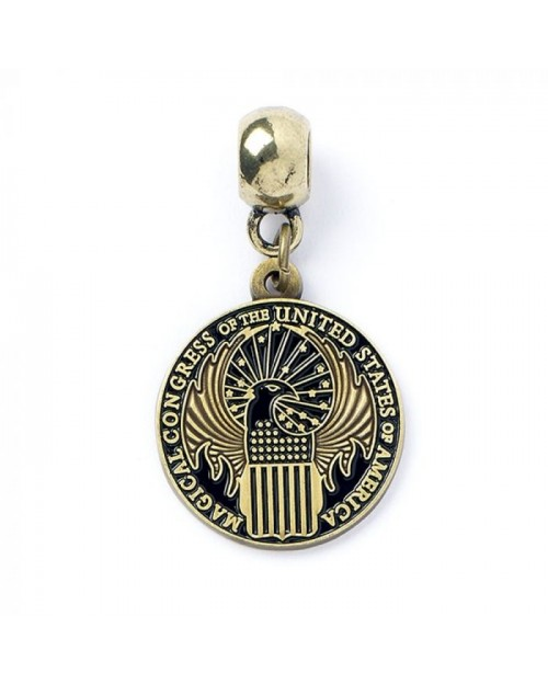 OFFICIAL FANTASTIC BEASTS MACUSA ROUND CHARM FOR BRACELET
