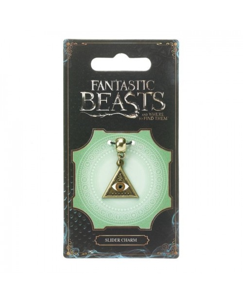 OFFICIAL FANTASTIC BEASTS TRIANGLE EYE MACUSA CHARM FOR BRACELET