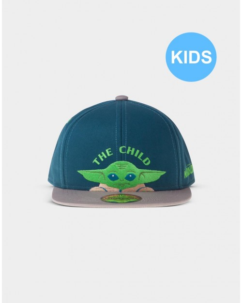 STAR WARS THE MANDALORIAN THE CHILD 'BABY YODA' SNAPBACK CAP [KIDS]