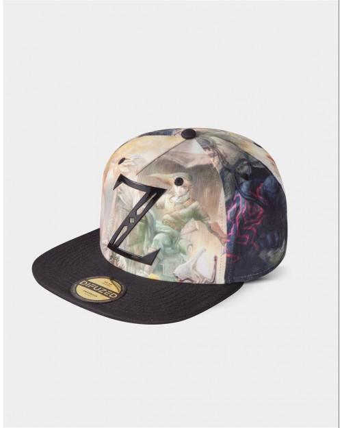 THE LEGEND OF ZELDA 'Z' LINK ALL OVER PRINT SNAPBACK CAP