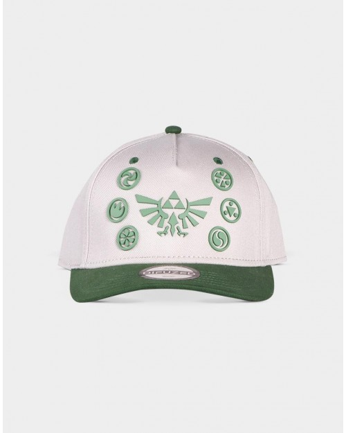 THE LEGEND OF ZELDA SAGE EMBLEMS GREY STRAPBACK BASEBALL CAP