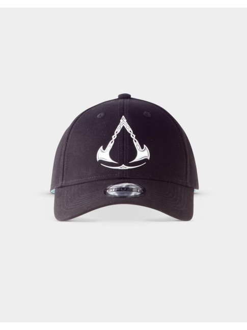 ASSASSINS CREED VALHALLA METAL SYMBOL STRAPBACK BASEBALL CAP