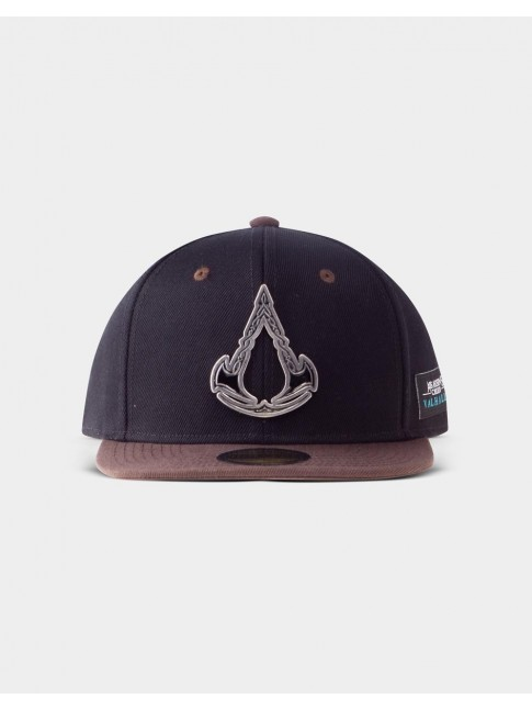 ASSASSINS CREED VALHALLA METAL SYMBOL SNAPBACK BASEBALL CAP