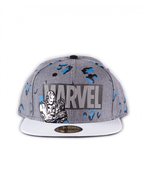MARVEL COMICS 'TRUE POWER' COLLECTION IRON MAN SNAPBACK BASEBALL CAP