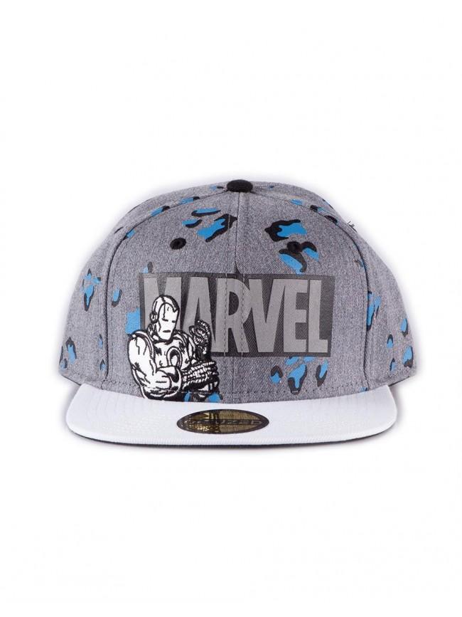 MARVEL COMICS 'TRUE POWER' COLLECTION IRON MAN SNAPBACK BASEBALL CAP