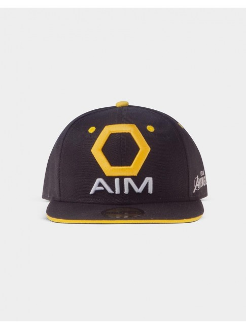 MARVEL COMICS AVENGERS GAME AIM ADVANCED IDEA MECHANICS SNAPBACK BASEBALL CAP