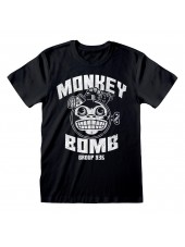 CALL OF DUTY: WORLD AT WAR MONKEY BOMB GROUP 935 BLACK T-SHIRT