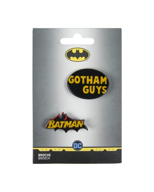 DC COMICS BATMAN GOTHAM GUYS BROOCH BADGE