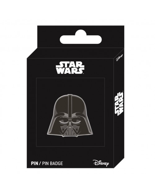STAR WARS DARTH VADER MASK METAL PIN BADGE