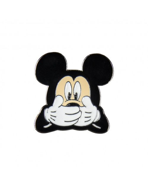 DISNEY MICKEY MOUSE OOPS FACE METAL PIN BADGE