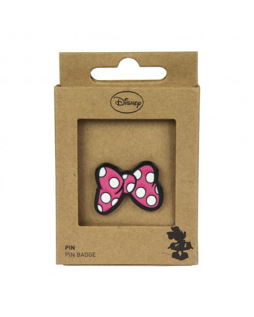 DISNEY MINNIE MOUSE BOW METAL PIN BADGE