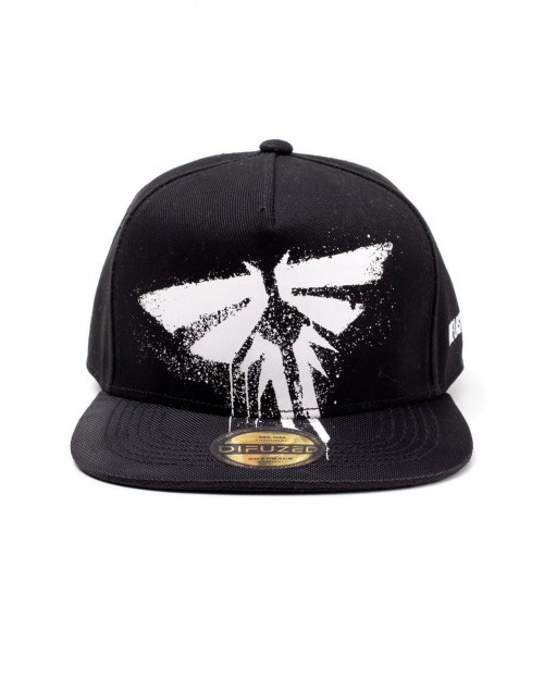 OFFICIAL THE LAST OF US PART - FIREFLY LOGO BLACK SNAPBACK CAP