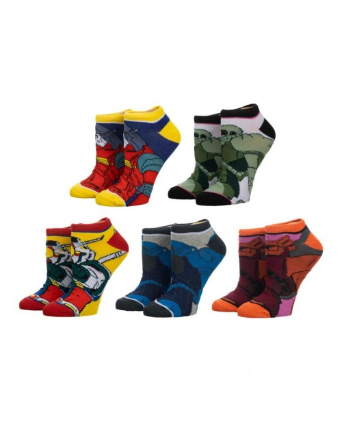 MOBILE SUIT GUNDAM MIX & MATCH ANKLE SOCKS 3 PAIRS OF SOCKS
