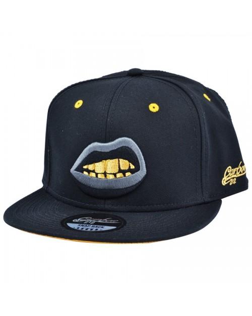 CARBON 212 GRILLZ BLACK SNAPBACK CAP