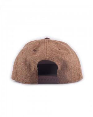MAGIC THE GATHERING LOGO BROWN COSTUME STYELED SNAPBACK CAP