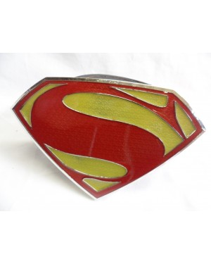 MASSIVE SUPERMAN: MAN OF STEEL BUCKLE with BELT