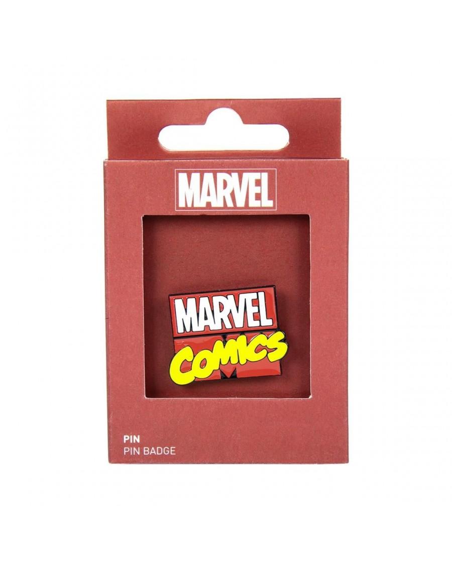 MARVEL COMICS SPIDER MAN ROCK ON METAL PIN BADGE